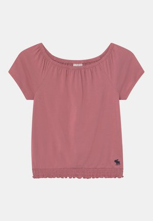 T-shirt z nadrukiem - blush