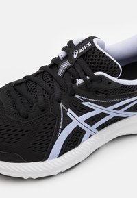 ASICS - GEL CONTEND 7 - Neutral running shoes - black/lilac opal - 5