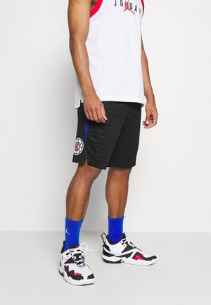 NBA LA CLIPPERS SWINGMAN SHORT - Pantalón corto de deporte - black/university red/rush blue/white
