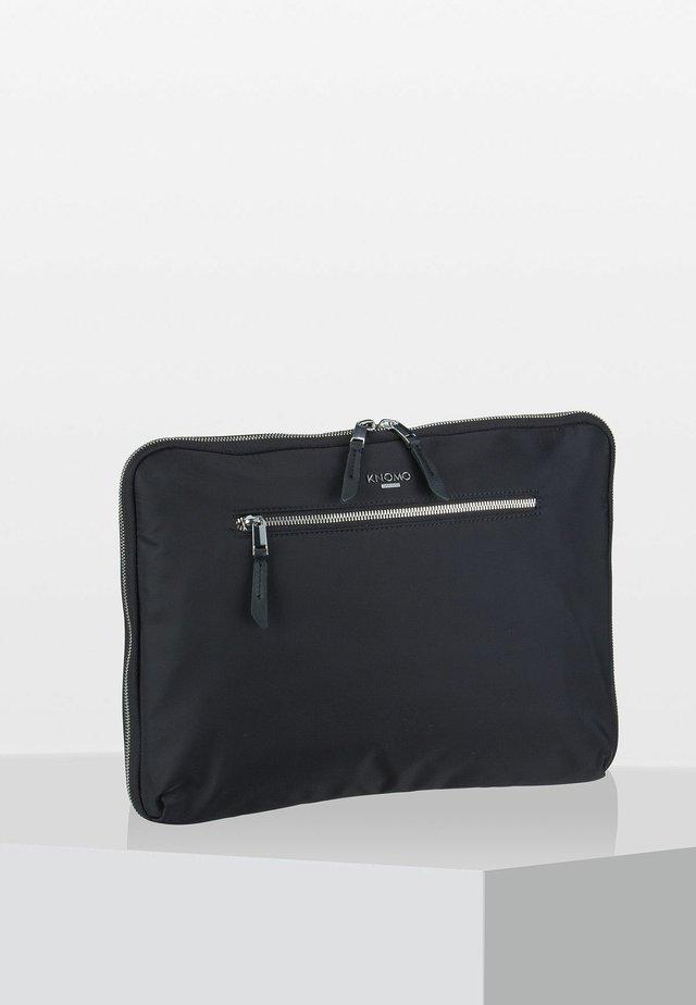 MAYFAIR  - Laptop bag - black/silver