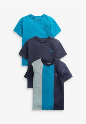 3 PACK HERITAGE - Print T-shirt - multi-coloured