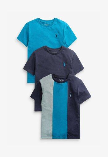 3 PACK HERITAGE - Print T-shirt - multi-coloured
