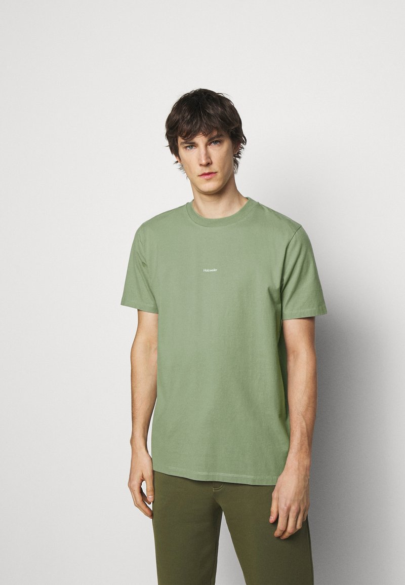 Holzweiler - LIVE TEE - Jednoduché triko - green