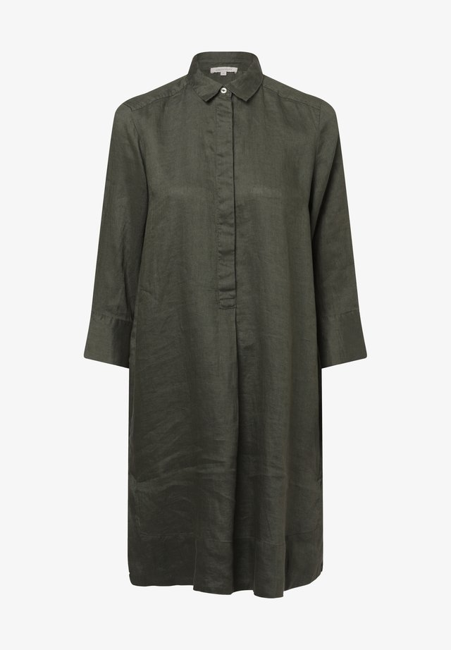 Shirt dress - oliv
