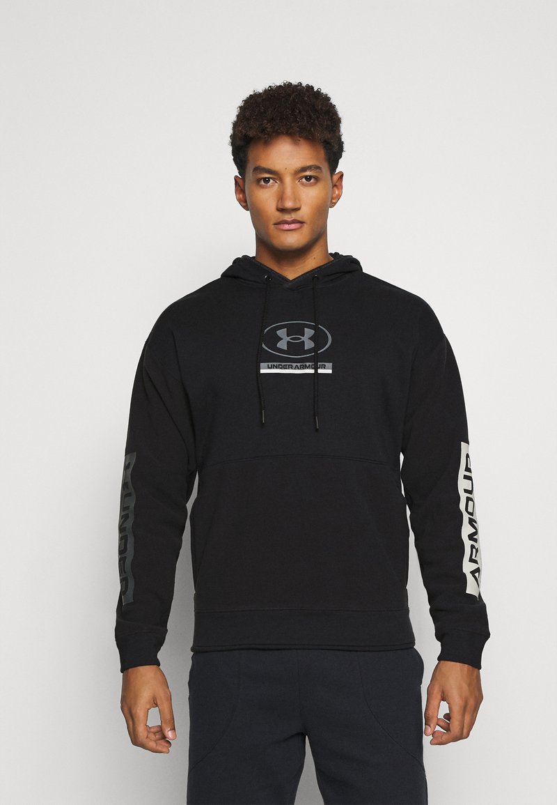 Under Armour - PACK HOODIE - Mikina - black/pitch gray