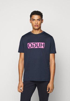 DICAGOLINO - T-shirt med print - dark blue