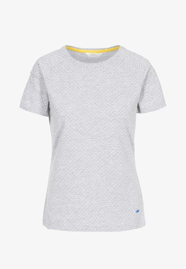 ANI SUNSHINE - Print T-shirt - grey