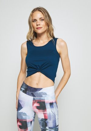 KNOT CROP - Sports shirt - empathy