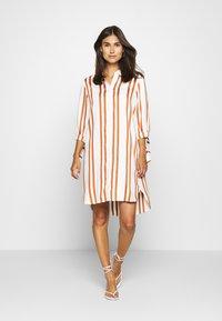 comma - Shirt dress - white - 1