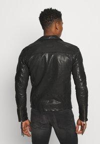 Tigha - ARNO - Leather jacket - black - 2