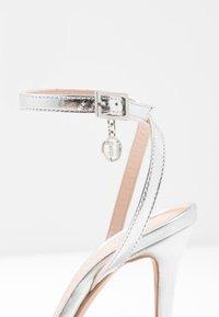 Trussardi Jeans - High heeled sandals - silver - 2