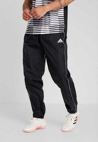 adidas Performance - CORE 18 RAIN PANT - Bukse - black/white - 0