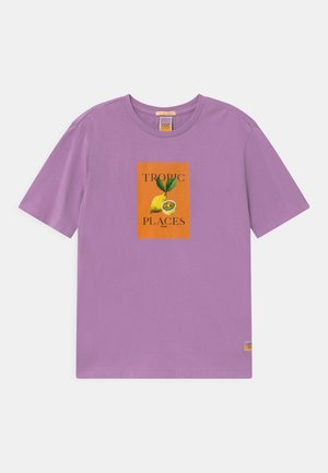SHORT SLEEVE ARTWORK - Print T-shirt - lavender