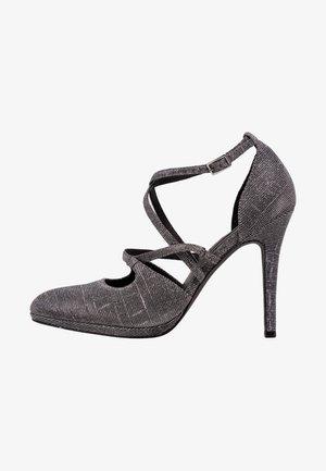 High heels - silver