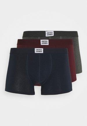 JACINTRO TRUNKS 3 PACK - Underkläder - navy blazer