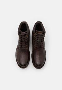 Lumberjack - ROY - Šněrovací kotníkové boty - dark brown - 3