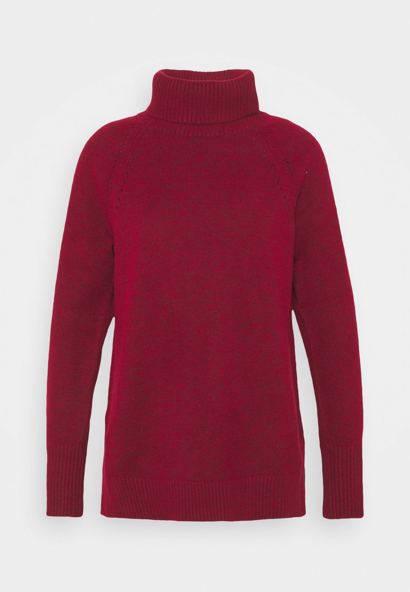 GAP - BRUSHED SUPERSOFT - Jumper - cinnabar red