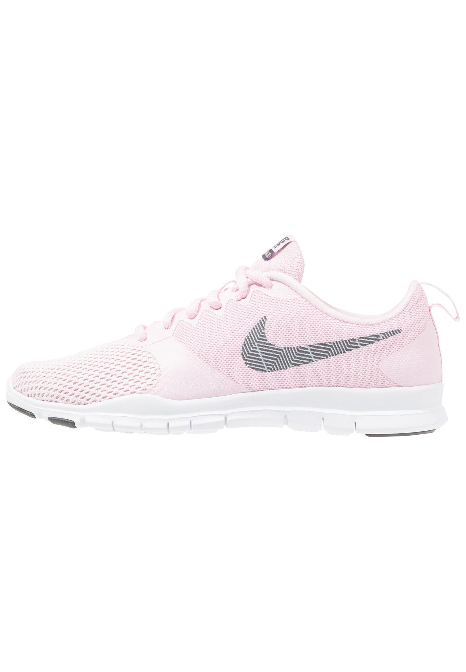 WMNS NIKE FLEX ESSENTIAL TR - Sportschoenen - pink foam/thunder grey/pale  pink