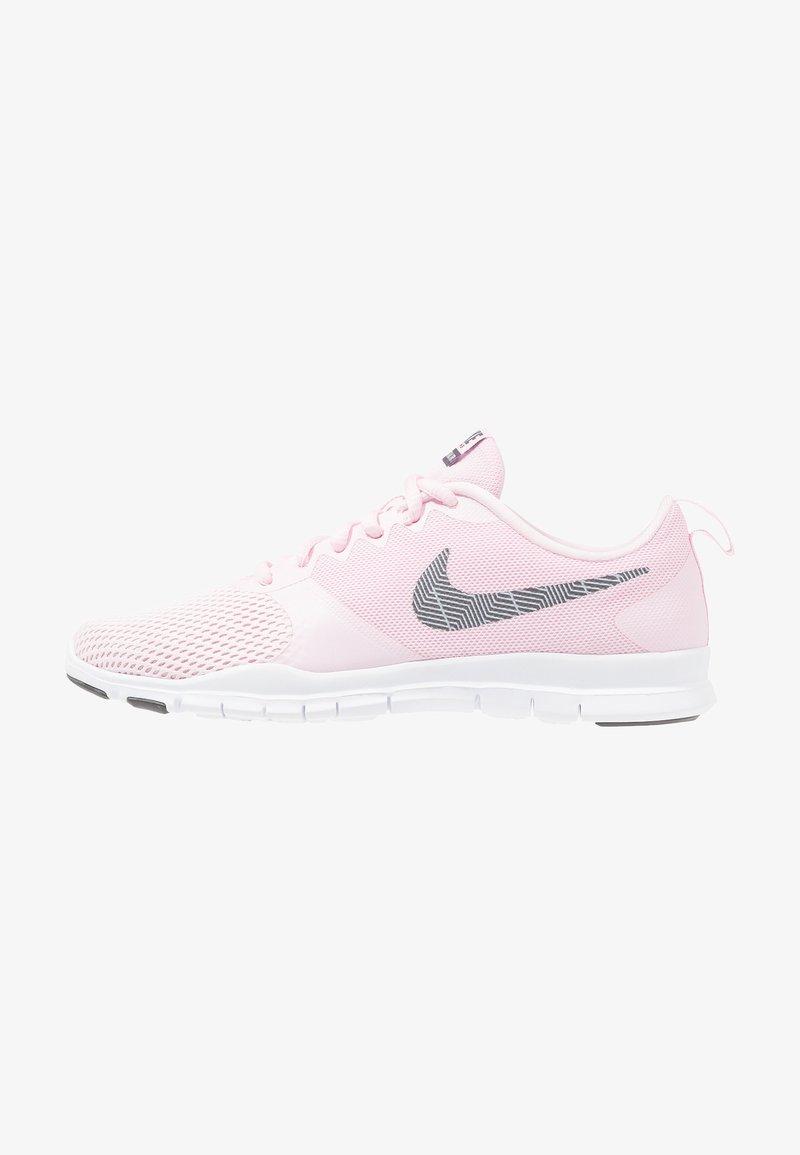 Nike Performance - WMNS NIKE FLEX ESSENTIAL TR - Sportovní boty - pink foam/thunder grey/pale pink