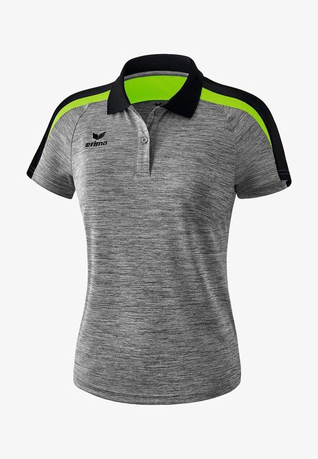 LIGA 2.0 POLOSHIRT DAMEN - Polo shirt - grau / schwarz