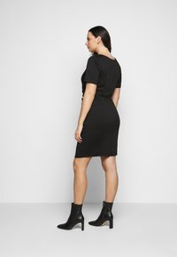 Kaffe Curve - KCINA DRESS - Day dress - black deep - 2