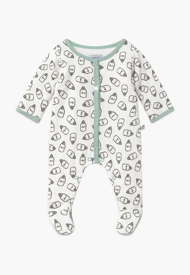 DORSBIEN - Sleep suit - white/green
