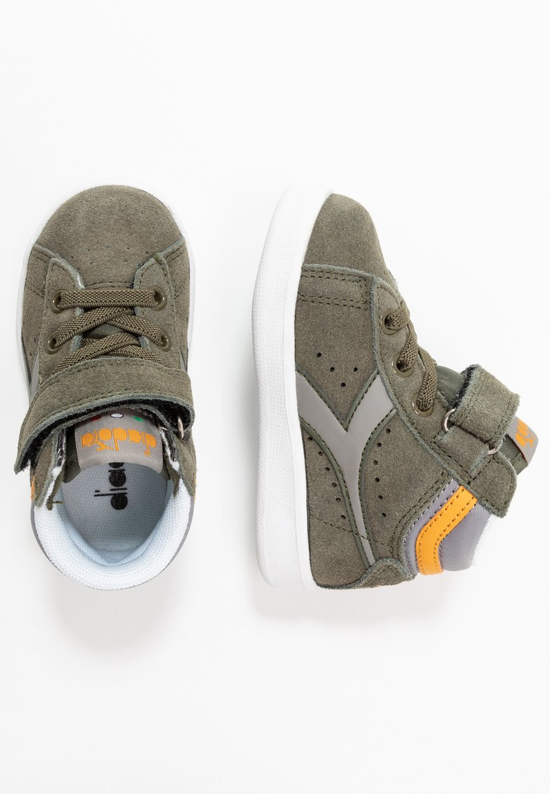 Diadora - GAME S HIGH - Sports shoes - burnt olive green