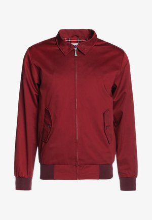 HARRINGTON - Kurtka Bomber - bordeaux