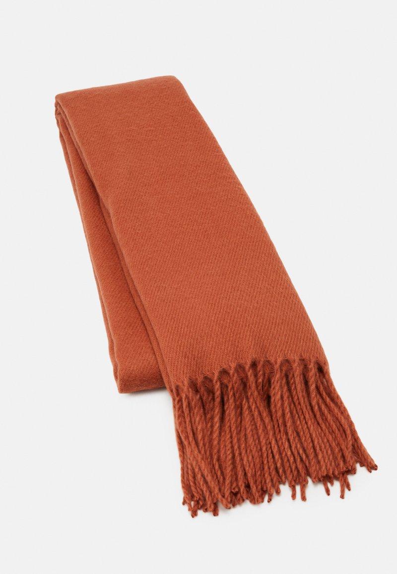 Vero Moda - VMSOLID LONG SCARF COLOR - Šála - auburn
