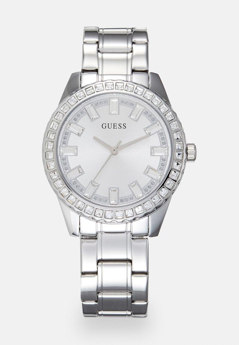 Guess - LADIES DRESS - Klokke - silver-coloured