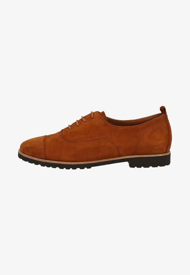 Derbies - cognac-braun