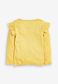 Next - RIB FRILL LONG SLEEVE - Long sleeved top - ochre - 1