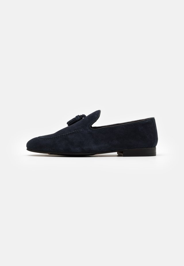 TERRY TASSEL LOAFER - Pensko - blue-grey