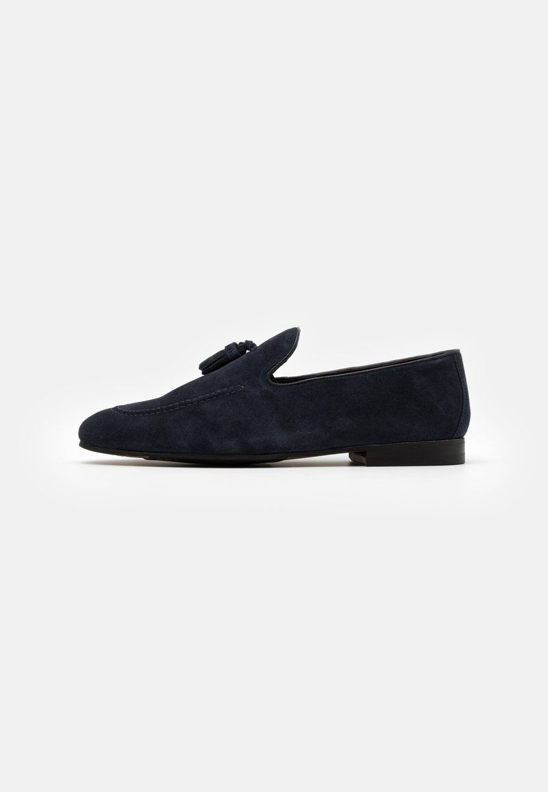 Walk London - TERRY TASSEL LOAFER - Mocassins - blue-grey