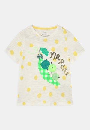 YIP PEAS TEE - T-shirt con stampa - white