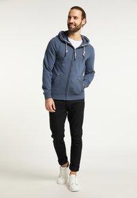 Schmuddelwedda - Zip-up hoodie - rauch marine - 1