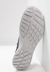 ECCO - Hiking shoes - marine/concrete - 4