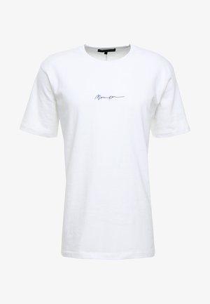 ESSENTIAL REGULAR RELAXED SIG TEE UNISEX - T-shirt basic - white