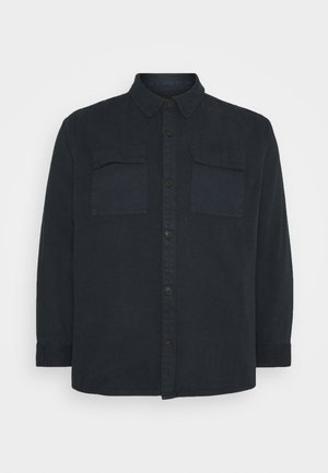 UTILITY OVERSHIRT MORE - Summer jacket - navy