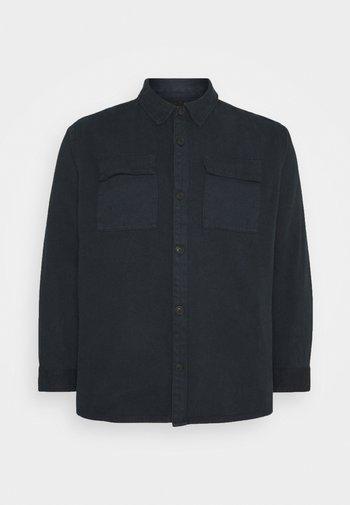 UTILITY OVERSHIRT MORE - Summer jacket - navy