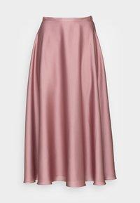 Swing - A-line skirt - pale lipstick - 3