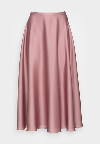 A-line skirt - pale lipstick