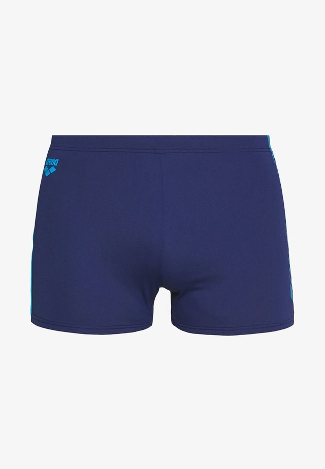 Swimming trunks - navy-turquoise