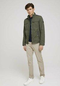 TOM TAILOR - BIKER - Light jacket - olive night green - 1