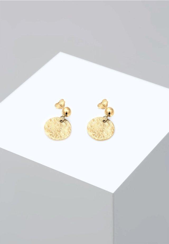 VINTAGE ANTIQUE - Boucles d'oreilles - gold-coloured
