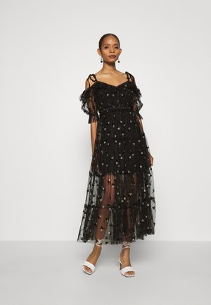 MOON LOVER DRESS - Cocktailkjole - black