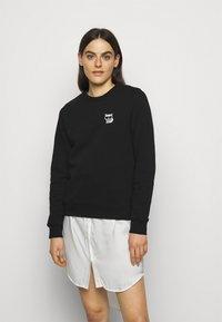 KARL LAGERFELD - IKONIK MINI CHOUPETTE - Sweatshirt - black - 0