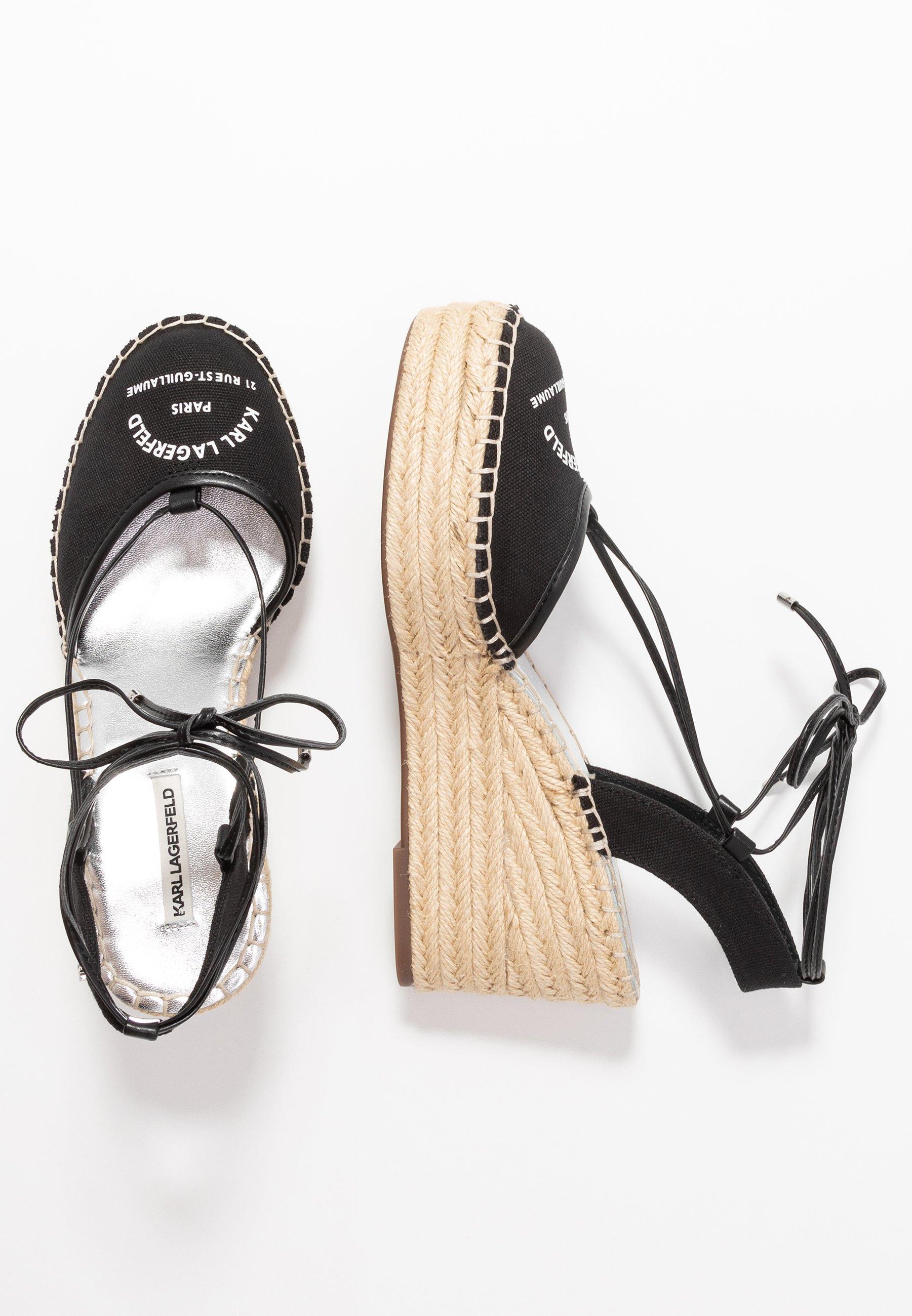 KAMINI MID MAISON SLINGBACK Sandaletter black