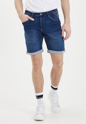 TWISTER FIT - Denim shorts - denim middle blue
