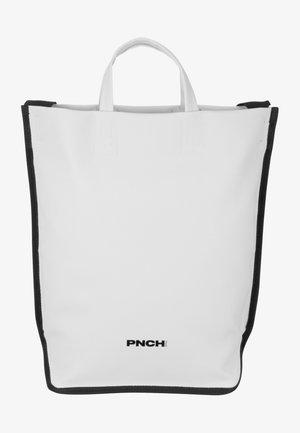 Tote bag - white/black